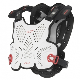 Alpinestars A1 Bodyprotector White