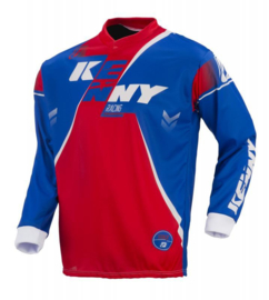 Kenny Track Jersey Youth Blue Red 2017