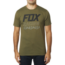 Fox Overdrive SS Premium Tee Olive Green