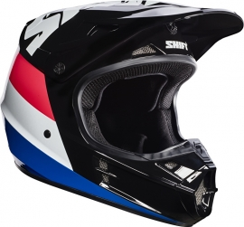 Shift Helm White Label Tarmac Black
