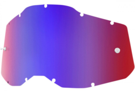 100% RC2/AC2/ST2 Mirror Red/Blue Lens