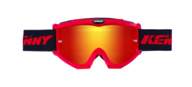 Kenny Track Goggle Red With Red Mirror Lens