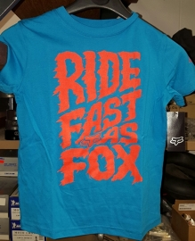 Fox Liquify SS Tee ELCT BLU Kids (mini)
