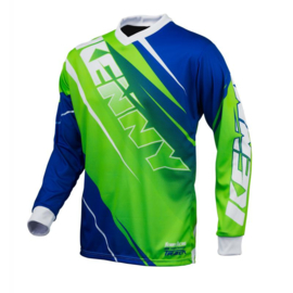 Kenny Track Jersey Green Blue 2016