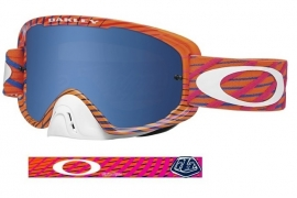 Oakley O2 Tremor Pog Black ice Iridium & Clear Lens