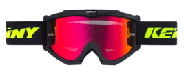Kenny Track Goggle Matt Black w Gold Mirror Lens