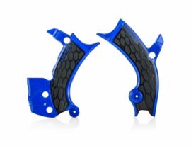 Acerbis X-Grip Framebeschermer YZF250 19-20 YZF450 18-20 Blauw Zwart