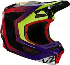 Fox V2 Voke Helmet Dark Purple 2021