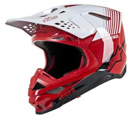 Alpinestars Supertech S-M10 Dyno Red White Glossy