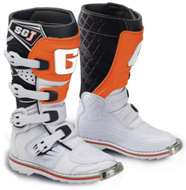 Gaerne SG-J Boot White Orange Jeugd
