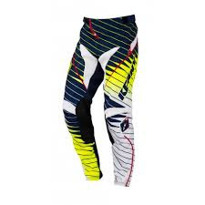 Kenny Performance Pant Blue Fluo Yellow 2016