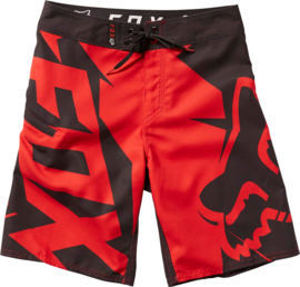 Fox Motion Fractured Boardshort Youth Red