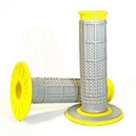 Renthal Dual Layer Grip Yellow