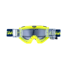 Kenny Track Max Roll-Off Goggle Adult  Fluo Blauw Geel