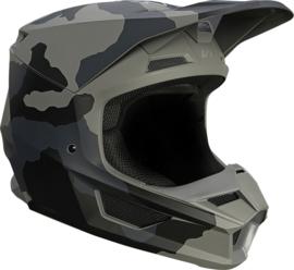 Fox V1 TREV Helmet Black Camo 2021