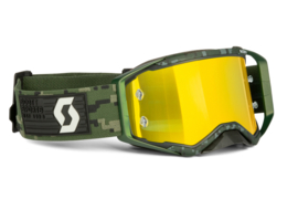 Scott Prospect Military Green W/Yellow Chrome Lens