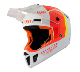 Kenny Performance Helm White Red Orange 2021