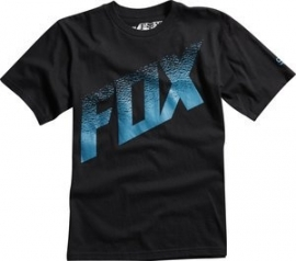 Fox Dirt Alert SS Regular Fit Black T-shirt Jeugd