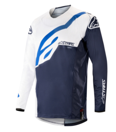 Alpinestars Techstar Factory Jersey White Dark Navy 2019