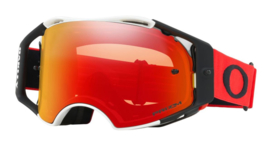 Oakley Airbrake Red White Prizm Torch Iridium