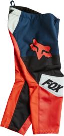 Fox 180 Trice Pant Grey Orange PeeWee 2022