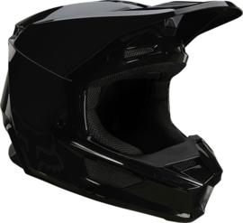Fox V1 PLAIC Helmet Black 2021