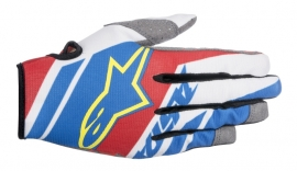 Alpinestars Racer Supermatic Glove Blue Red