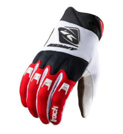 Kenny Track Glove White Red 2021
