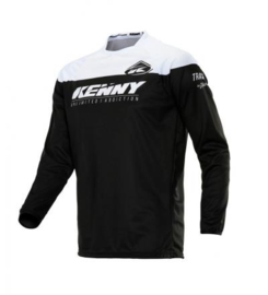 Kenny Track Raw Jersey Black White Kids 2020