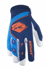 Kenny Track Handschoen Navy Cyan Orange