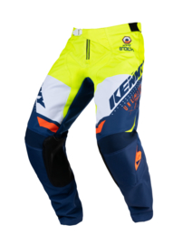 Kenny Track Pant Youth Navy Neon Yellow 2021