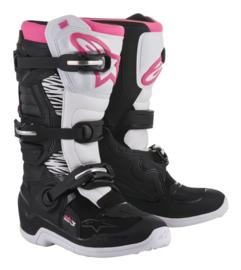 Alpinestars Tech 3 Stella Boots Black White Pink