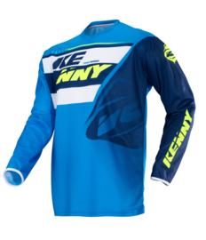 Kenny Track Jersey Navy Cyan 2018