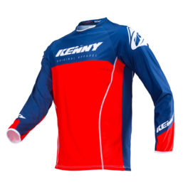 Kenny Titanium Jersey Red Navy 2019