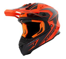 Kenny Graphic Titanium Helmet Orange Black 2021