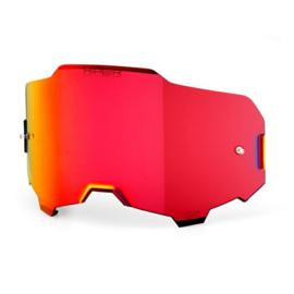 100% Armega HiPER Mirror Red Lens