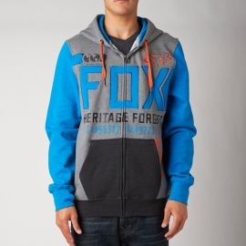 Fox Blockade Zip Fleece Blue