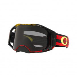 Oakley Airbrake Frequency Red Yellow