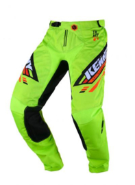 Kenny Track Pant Youth Lime Black  2020