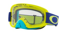 Oakley O2 Flo Lime Blue w/Clear Lens