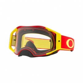 Oakley Airbrake Red Yellow