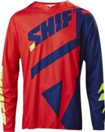 Shift Black Label Jersey Navy Red