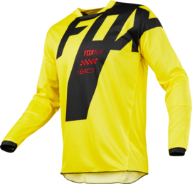 Fox 180 Mastar Jersey Yellow Youth 2018