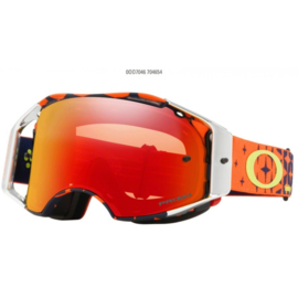 Oakley Airbrake TLD Megaburst Orange Navy Prizm Torch