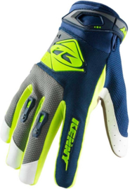 Kenny Track Glove Navy Lime 2019