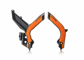 Acerbis X-Grip Framebeschermer SX/SX-F 19-20 Zwart Oranje