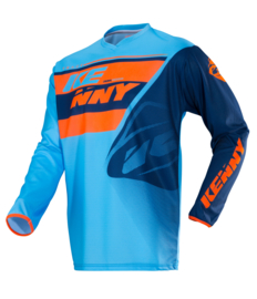 Kenny Track Jersey Youth Blue Orange 2018