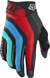 Fox Airline Seca Glove Grey Red