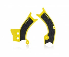 Acerbis X-Grip Framebeschermer RMZ450 18-20 Geel Zwart