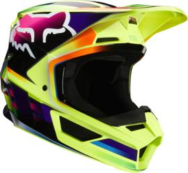 Fox V1 Gama Helmet Yellow 2020
